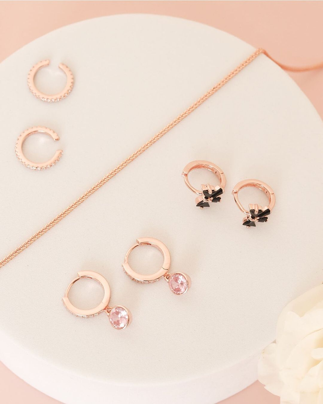 Valentines day gift ideas - Stage Chic's Rose Collection Jewelry