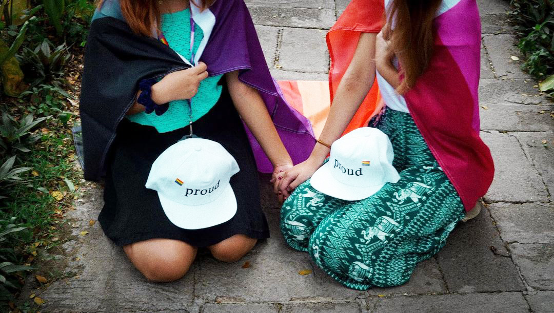 Valentines day gift ideas -The Gay Agenda's proud cap