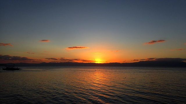 sunset view spots philippines - andi's talisay