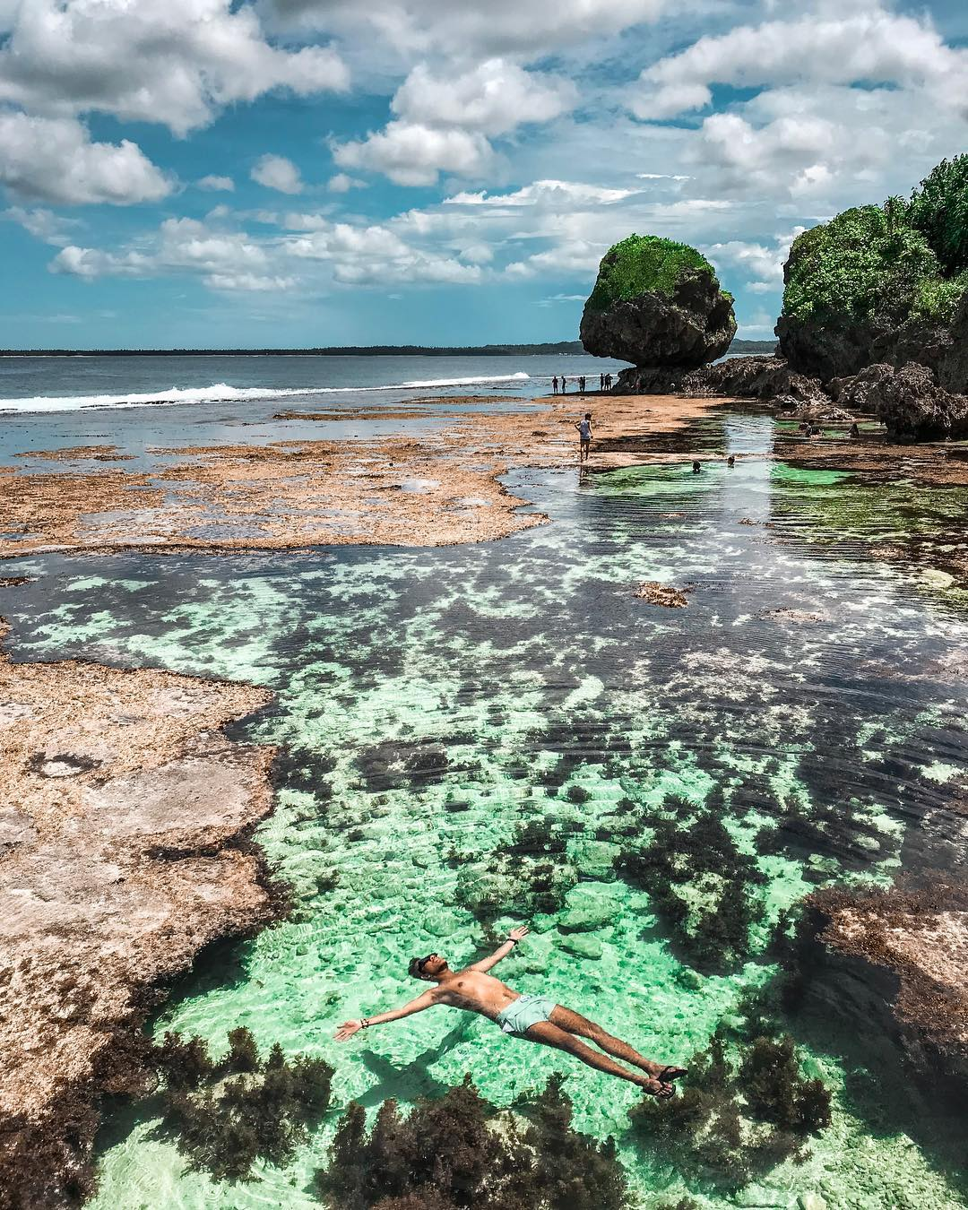 Philippine islands - Magpupungko Rock Pools Siargao