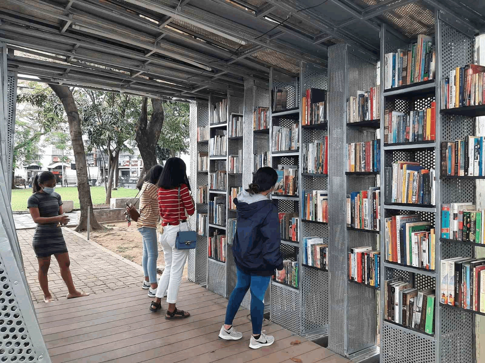 Intramuros reopens - The Book Stop Project