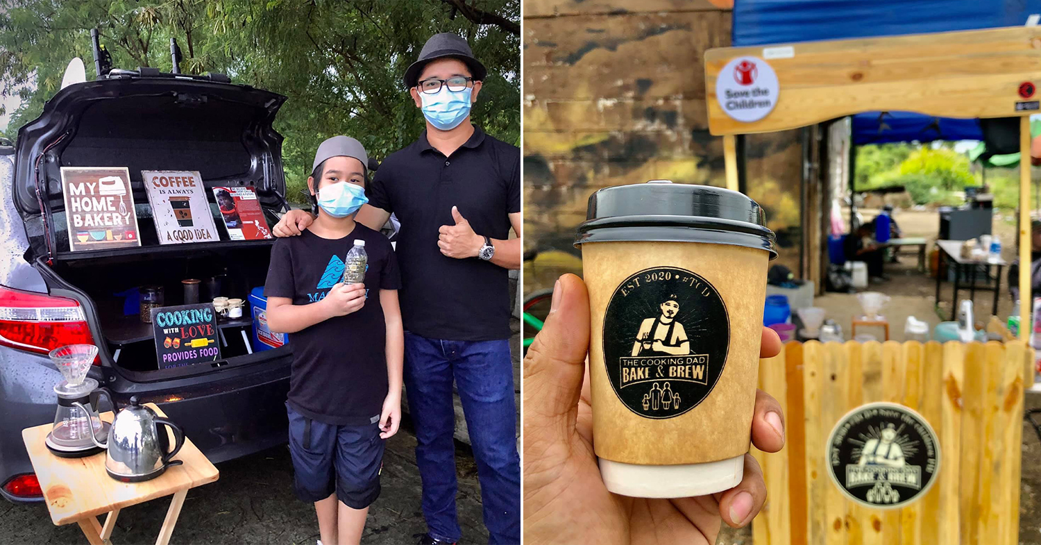 Mobile coffee shop Imus - The Cooking Dad Bake and Brew