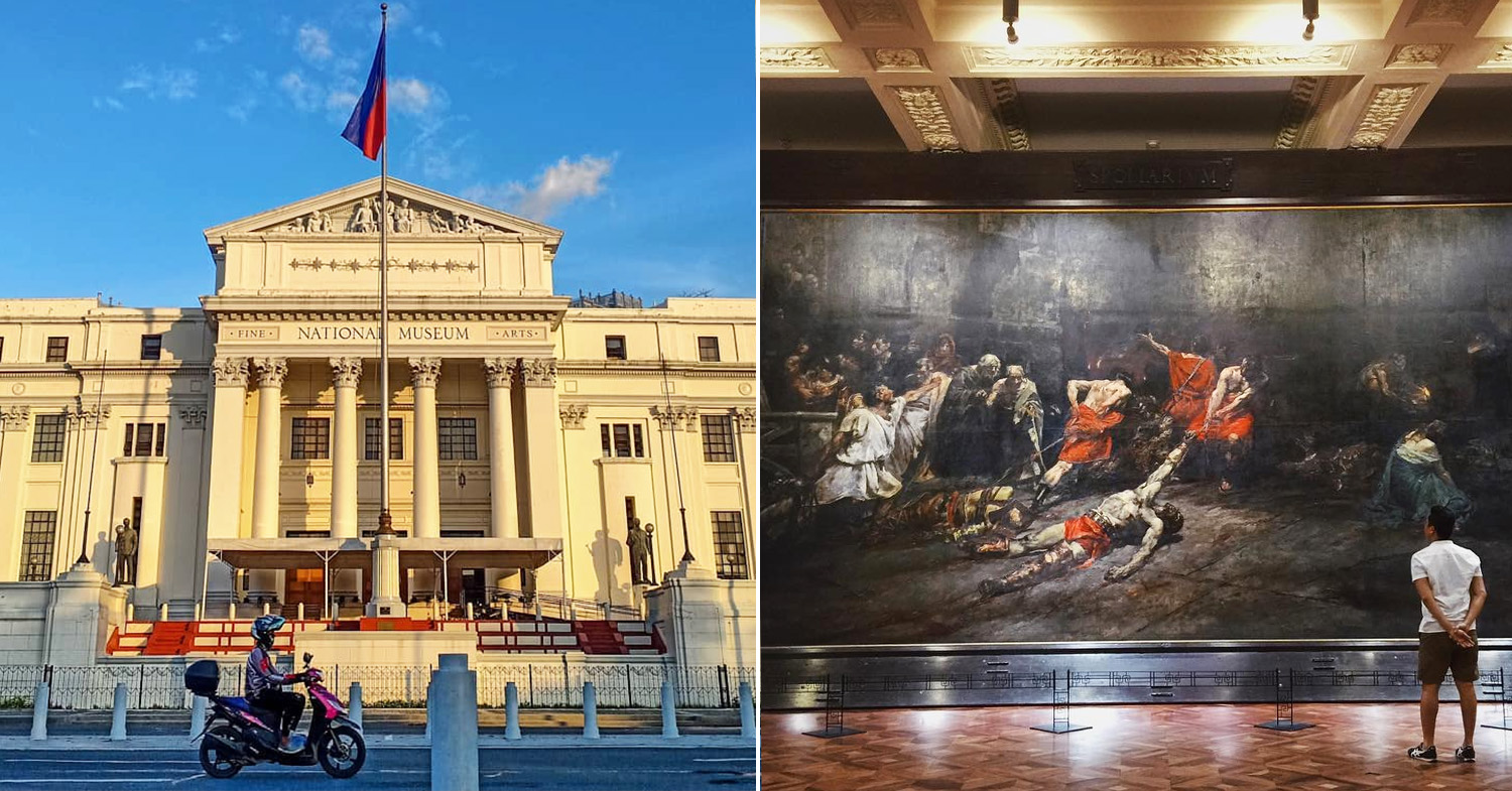 National Museum of the Philippines reopen - Fine Arts building
