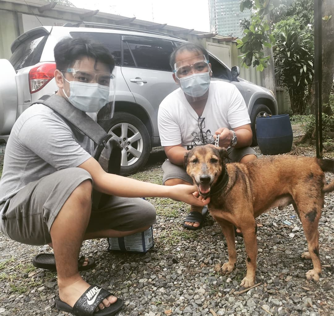 Community pawntry Makati - PAWS dog adopted