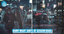 Photographer's Rainy Night Shots Of Baguio's Session Road Capture Magical Wong Kar-Wai Movie Vibes