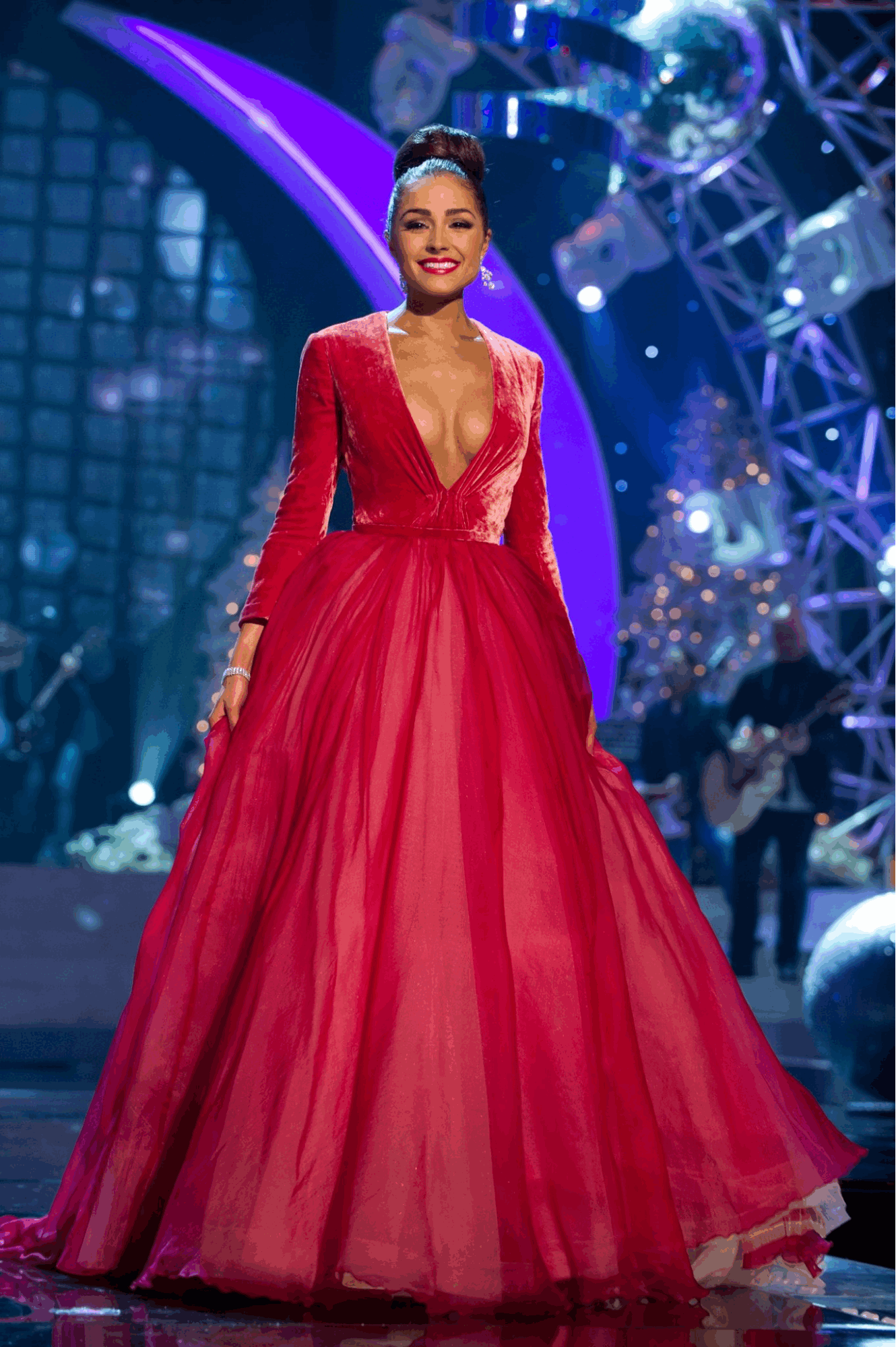 Miss Universe evening gowns - Olivia Culpo