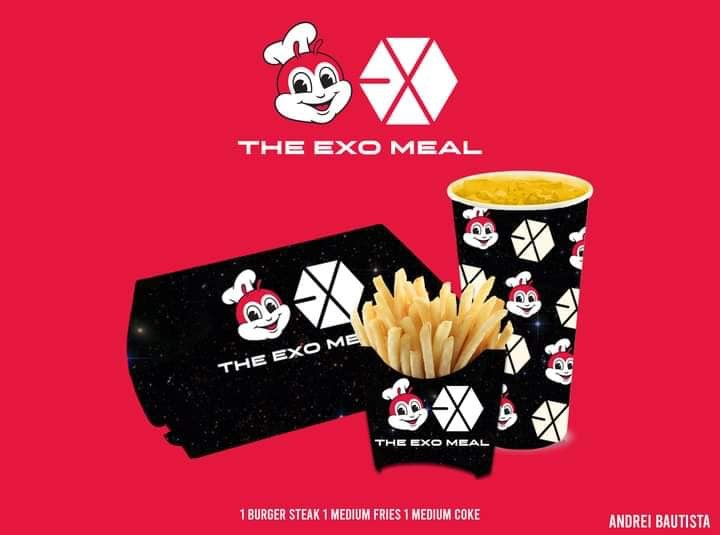 celeb-themed meals - exo