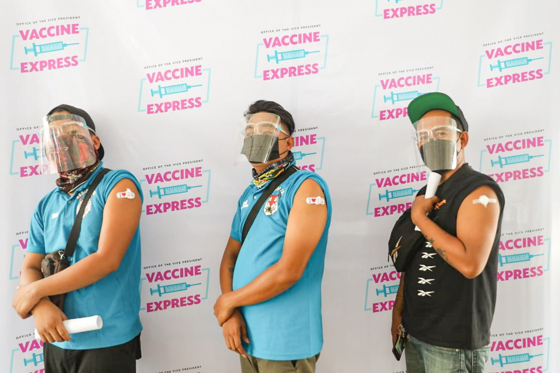 OVP Vaccine Express - vaccinated drivers