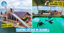 Calauag's Sea Escape Floating Cottage Lets You Swim, Snorkel & Boodle Fight With An Endless Sea View