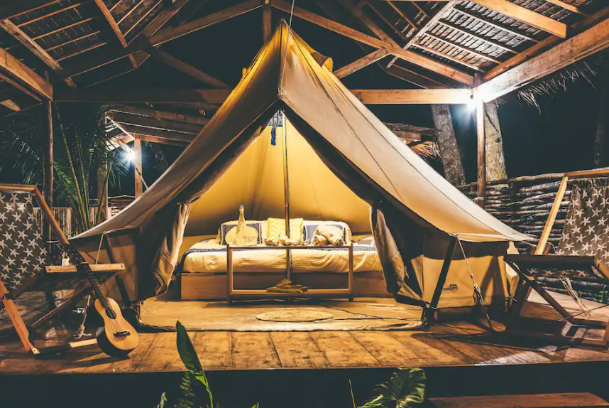 Siargao Airbnbs - Soultribe Glamping Tent