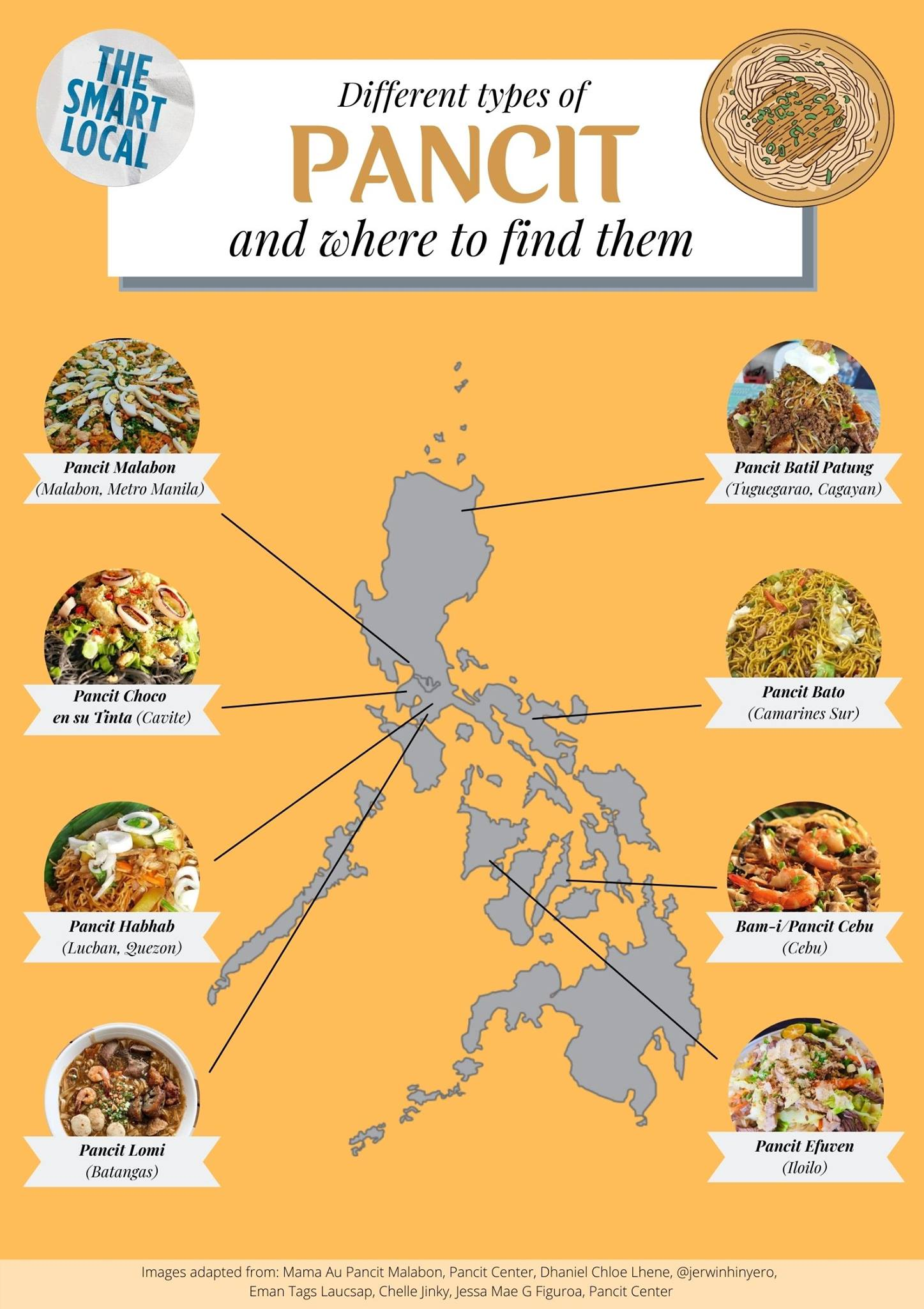 pancit types in the philippines