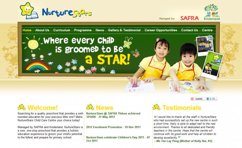 NurtureStars Reviews - Singapore Preschool - TheSmartLocal