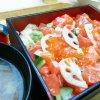 Salmon Oyako-jyu Set