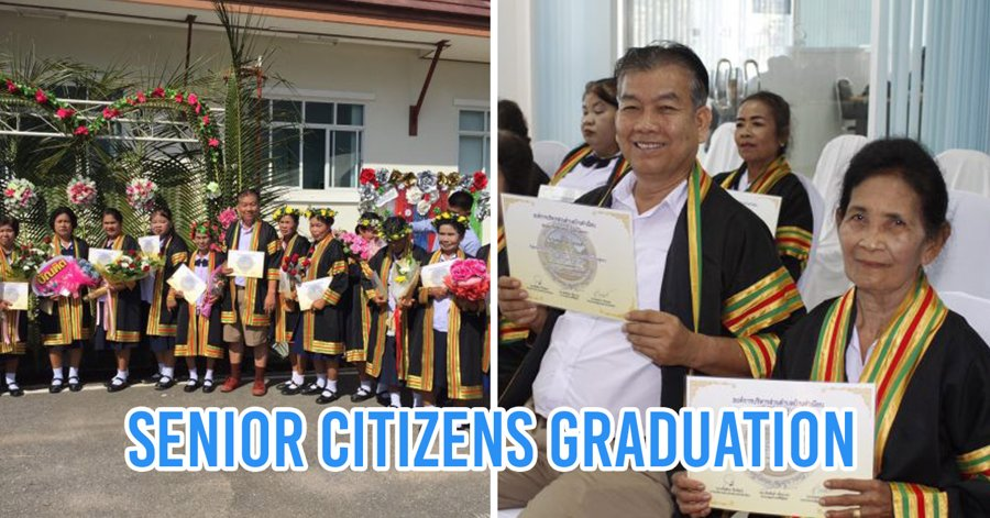Senior Citizens Graduate From Local Health Programme
