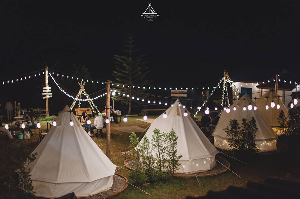 bell tent at The Campville Khaokho