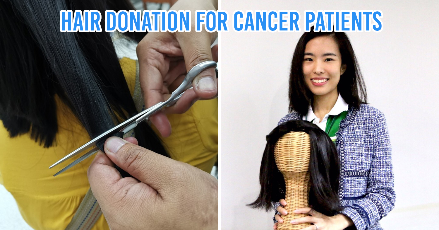 Hair donation for cancer patients in Thailand