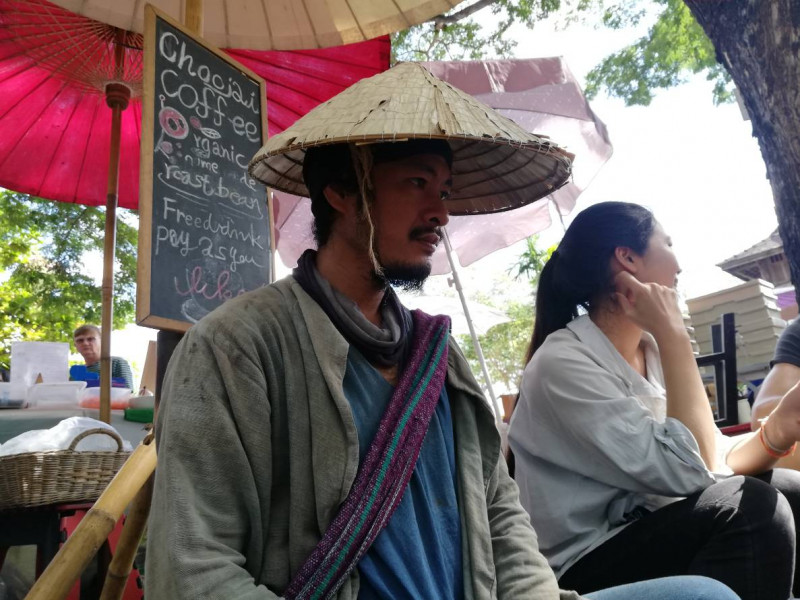 ka fe choo jai coffee vendor