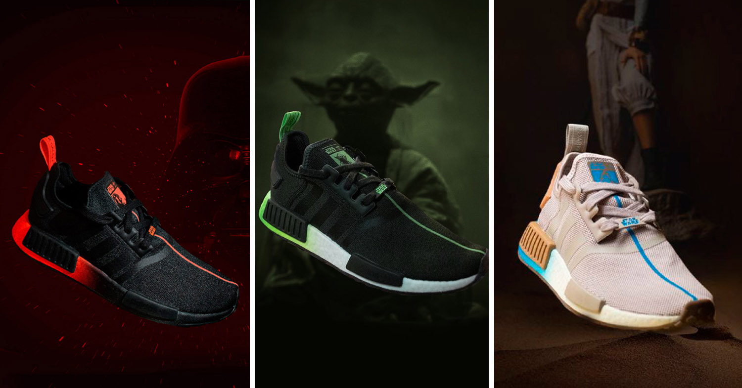 Adidas Has A New Star Wars Collection Inspired By Characters And Discounted T-Shirts