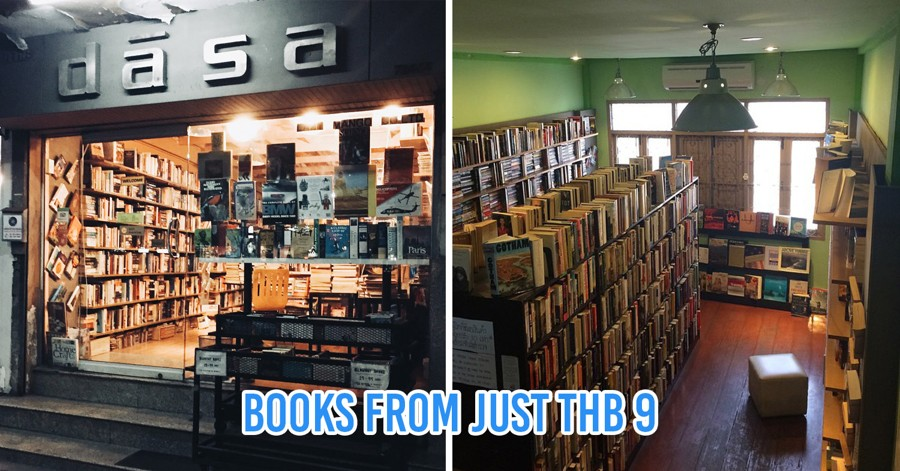 Bangkok's Most Popular Secondhand Bookshop Is Having A End-Year Sale With Books From $0.30
