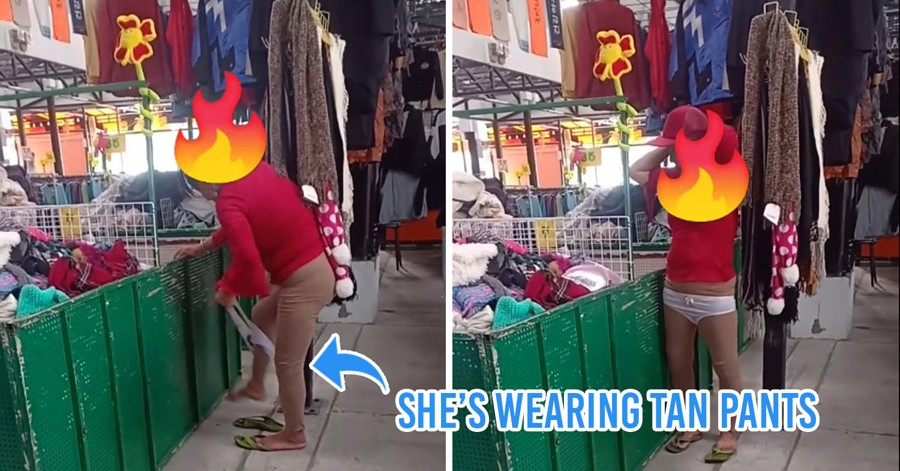 Video Of Thai Aunty Trying On Underwear At Market Goes Viral, Shop Owner Thanks Her For Boosting Sales