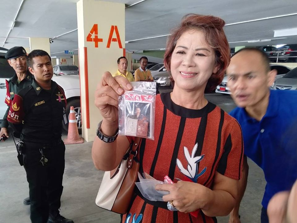 Thai Woman Crashes Car And Almost Falls Off Building, Believes An Amulet Saved Her Life