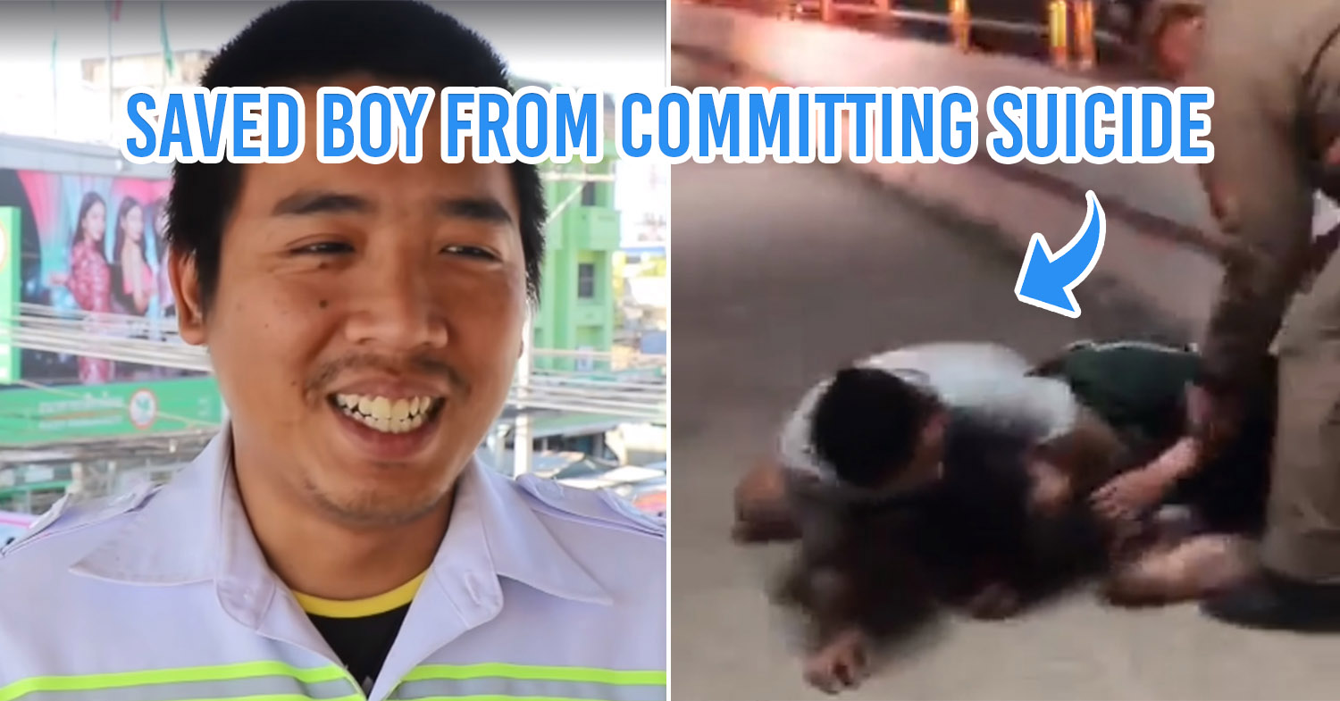 Boy saved by rescue officer
