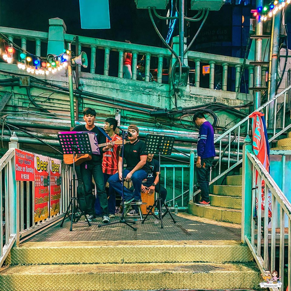 Pratunam Floating Night Market Is A New Food Market In Bangkok With Open-Air Restaurants And Bars
