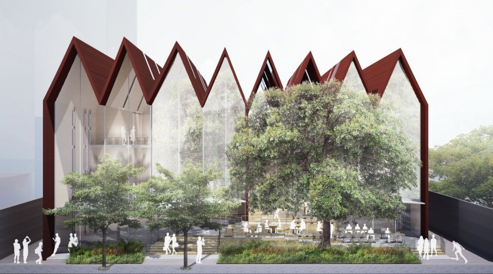 The design of new opening The Commons