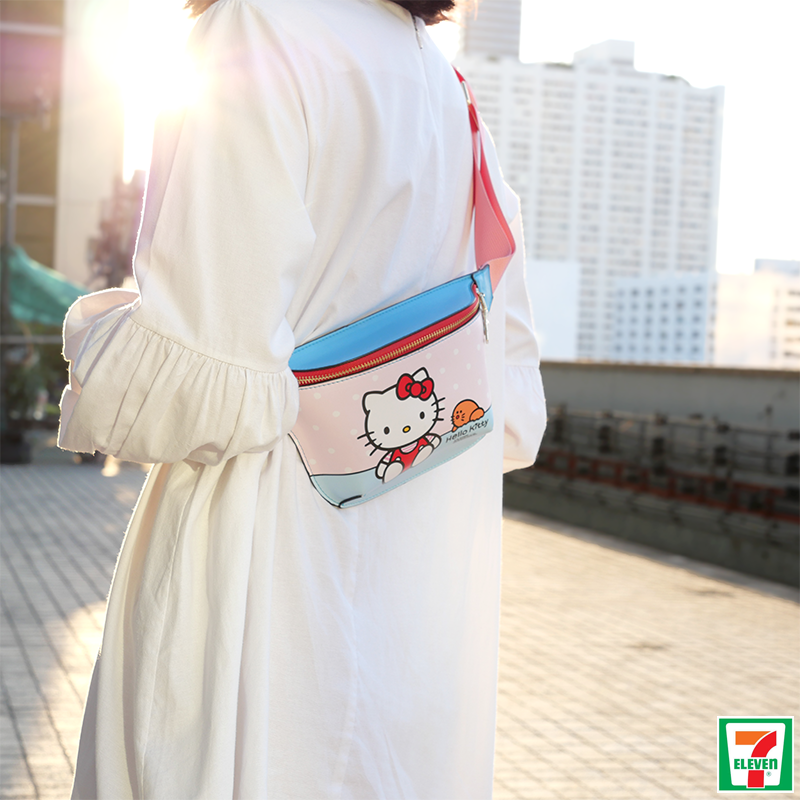 Hello Kitty & Sanrio Waist Bags Are Now Available At 7-11 Thailand For ~$6