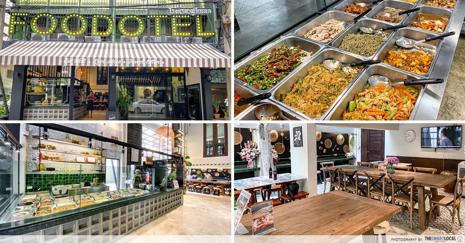Foodotel - Bangkok Hotel With Cheap Rice & Curry