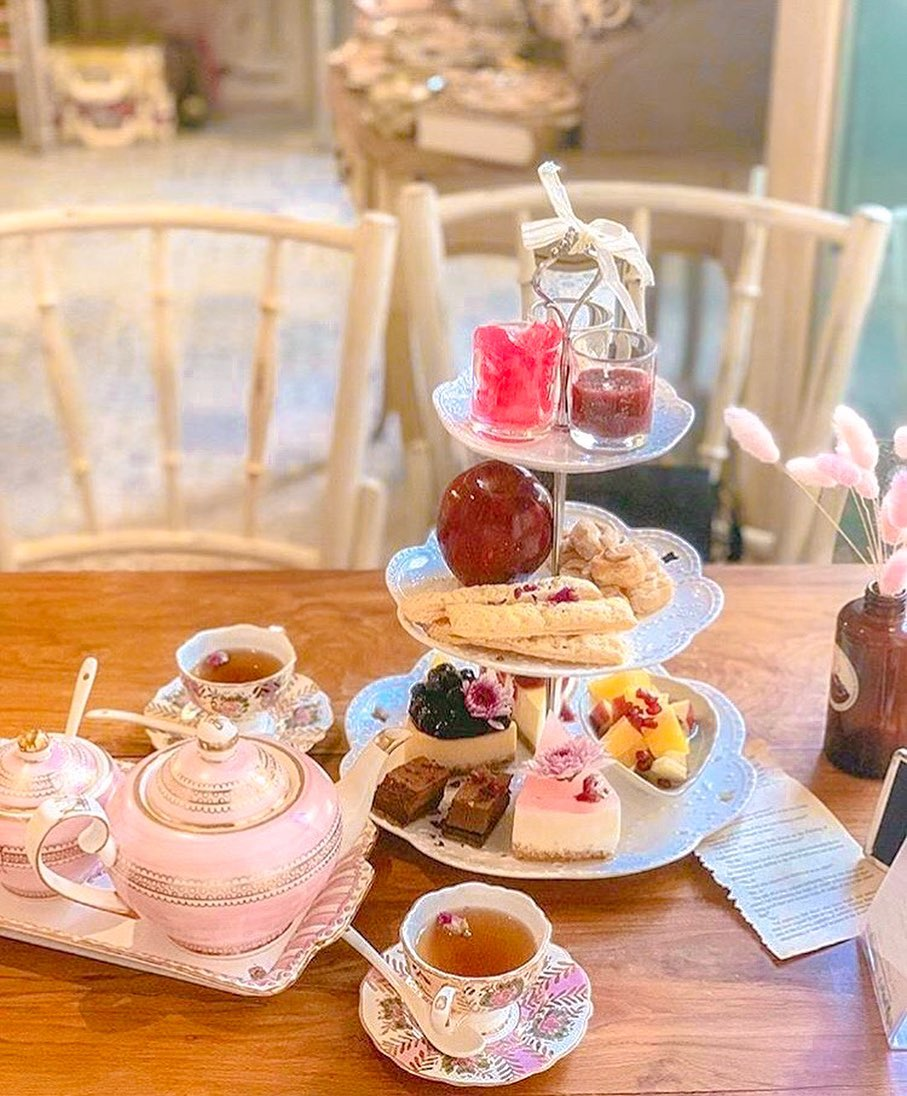 high tea cafe in Bangkok