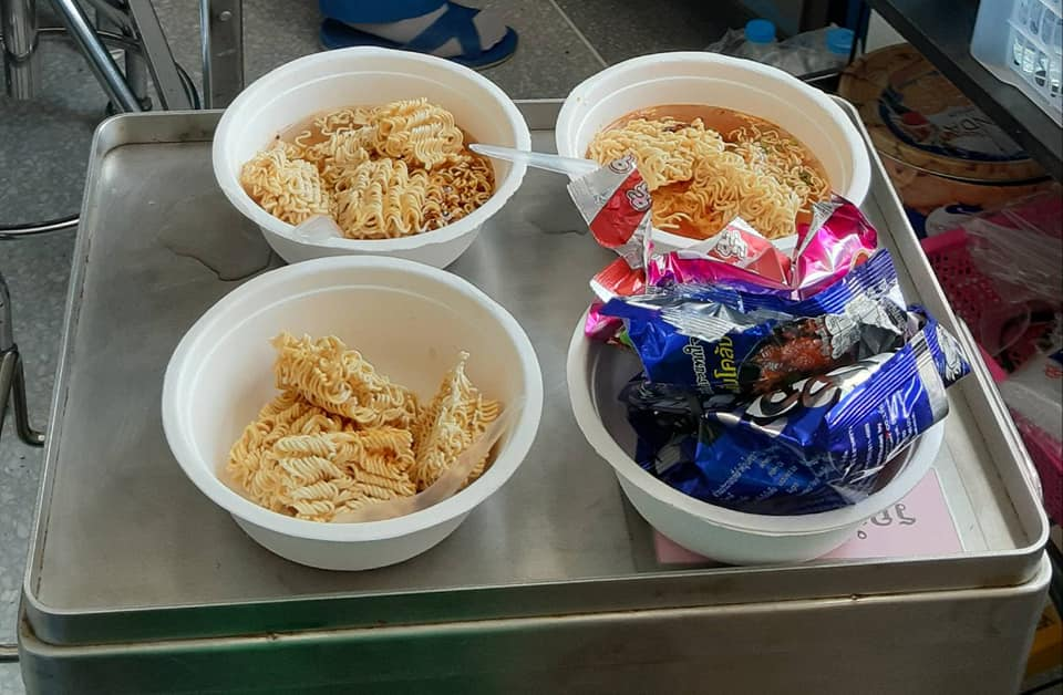 Nurses Suit Up To Serve Instant Noodles To 9 Year-Old COVID-19 Patient Who Wanted A Comfort Meal