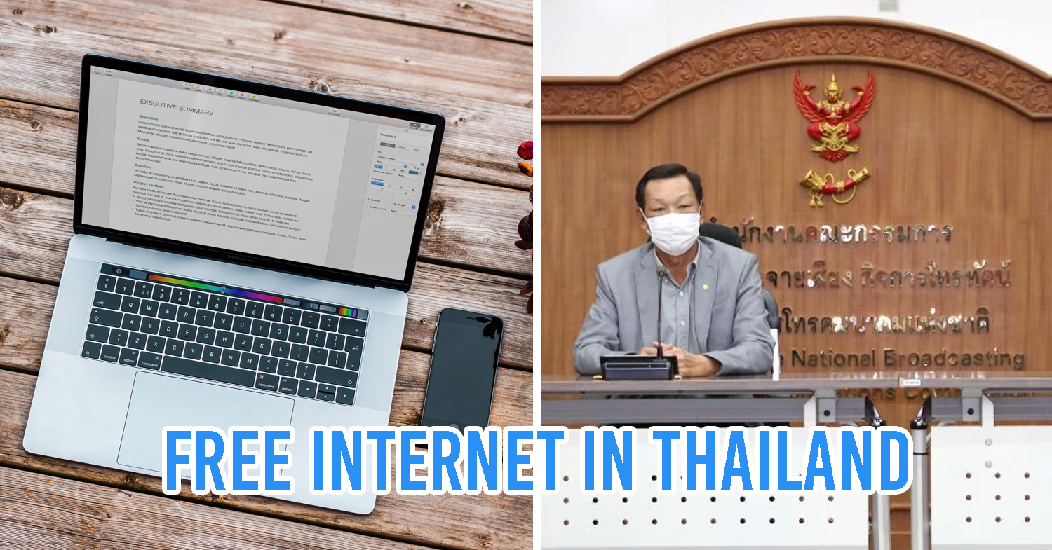 Free Mobile & Home Internet in Thailand