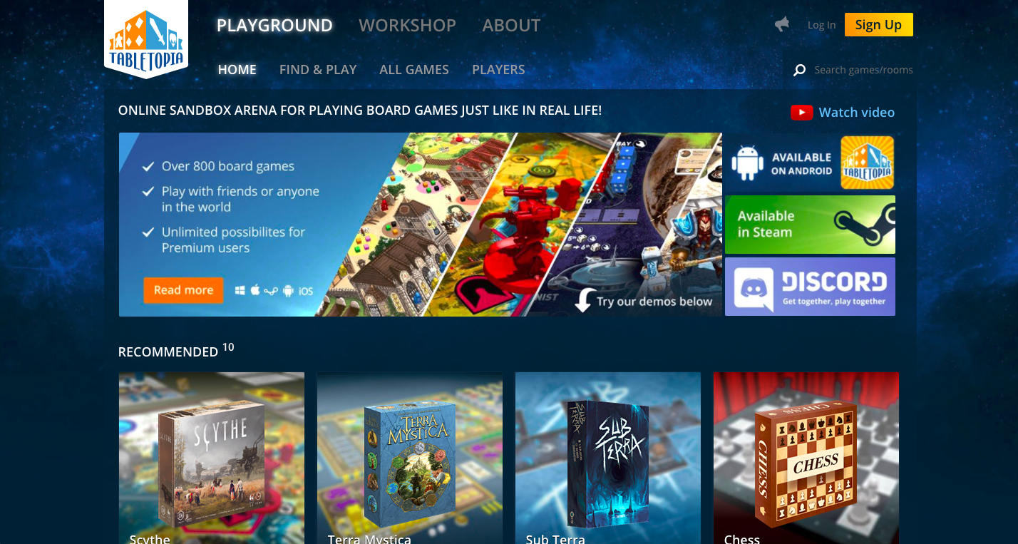 Playing online board games for free