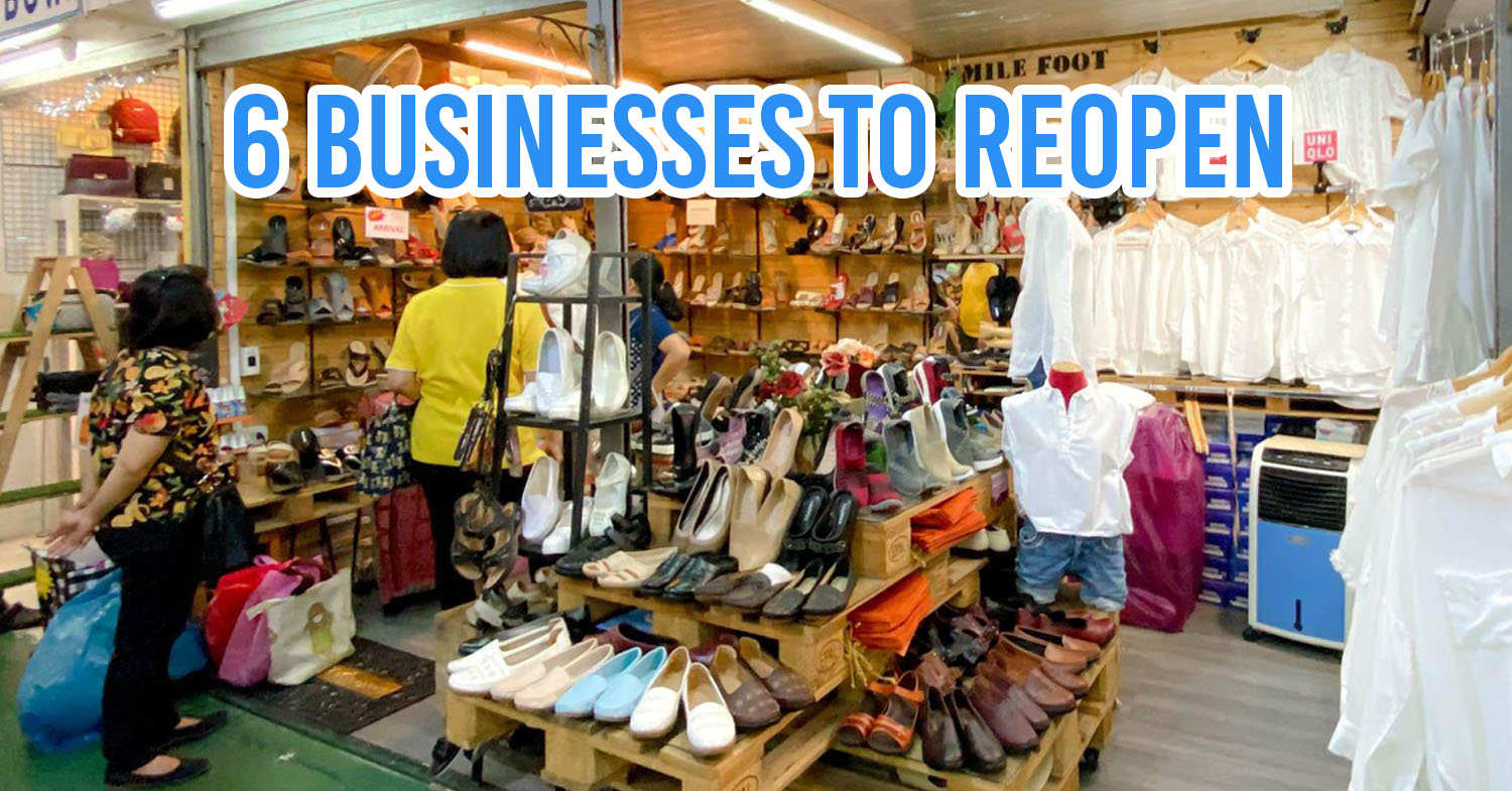 Restaurants, Shops, & Salons Among Businesses Confirmed To Reopen On 3 May
