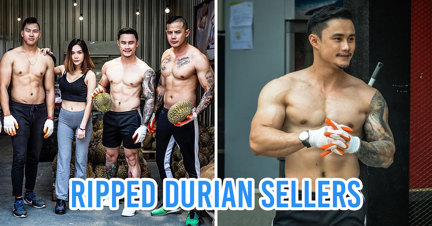 Head Cover Thai Gym Owners Sell Durians After The Gym Is Temporarily Closed Due To COVID-19