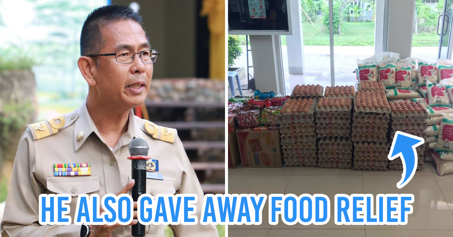 Thai Governor Secretly Redeems Pawned Items To Help His People