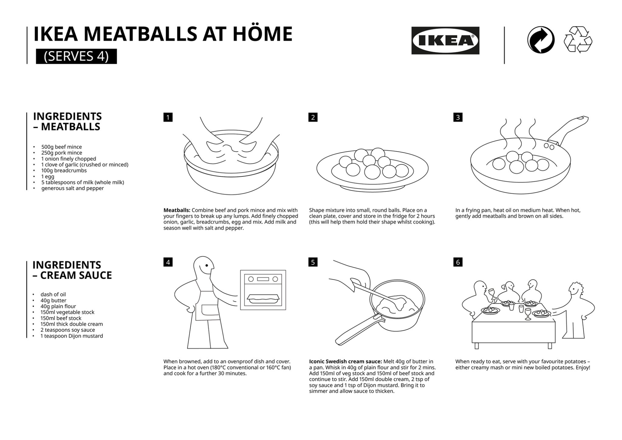 Ikea Has Shared Its Swedish Meatballs Gravy Recipe To Cook At Home