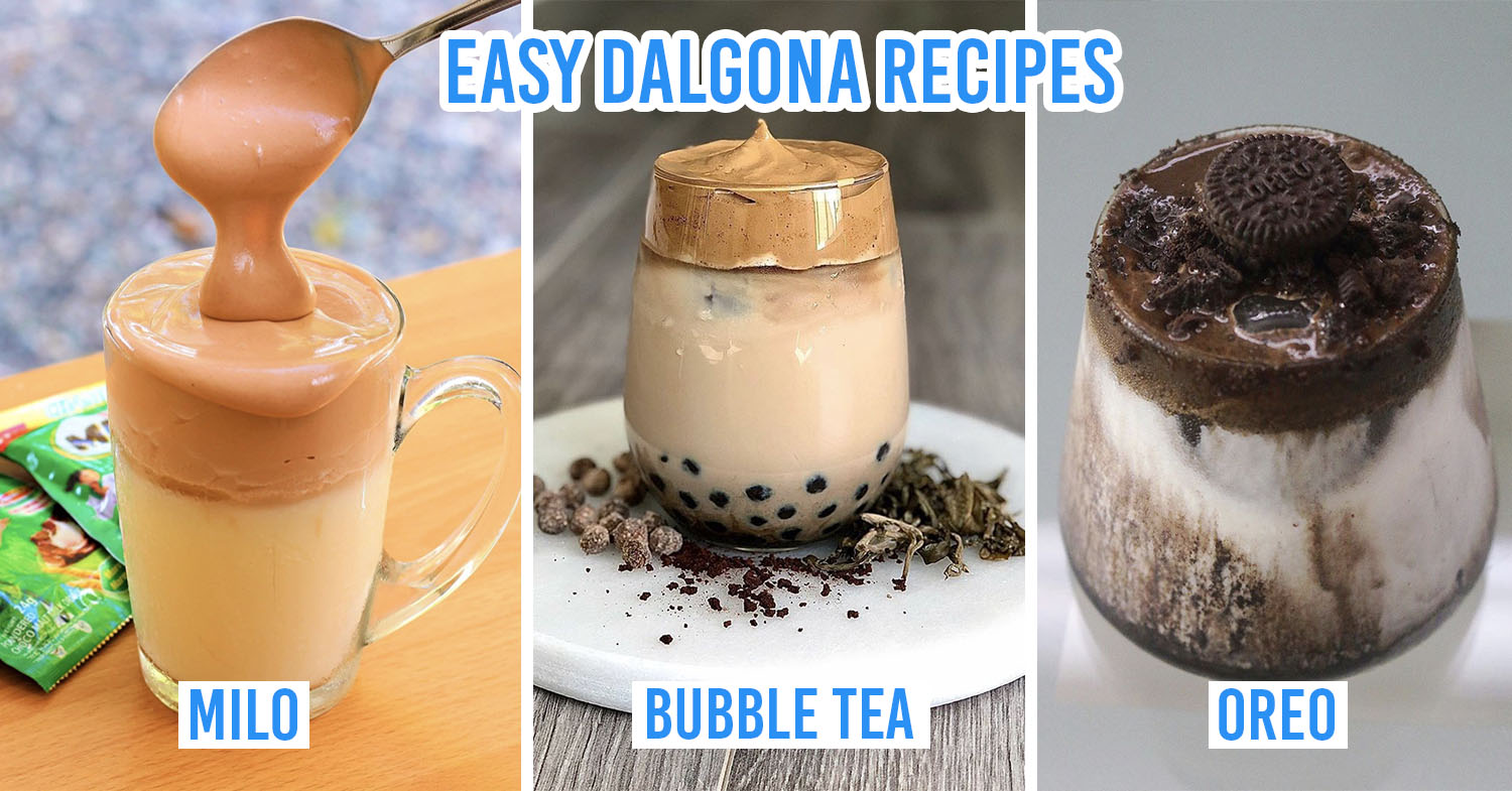 dalgona recipes