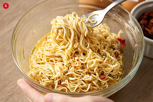 easy cooking recipes made from instant noodles