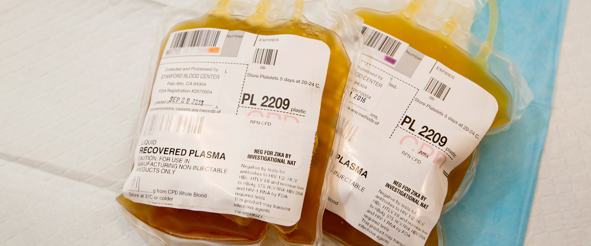 Donate blood plasma for COVID-19 patients