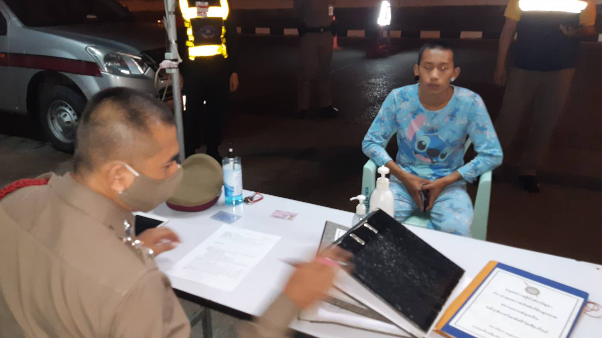 man arrested in chiang mai