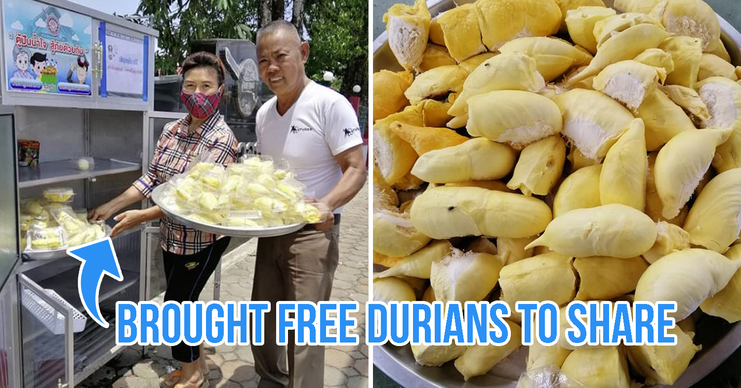 Free durian in Thailand