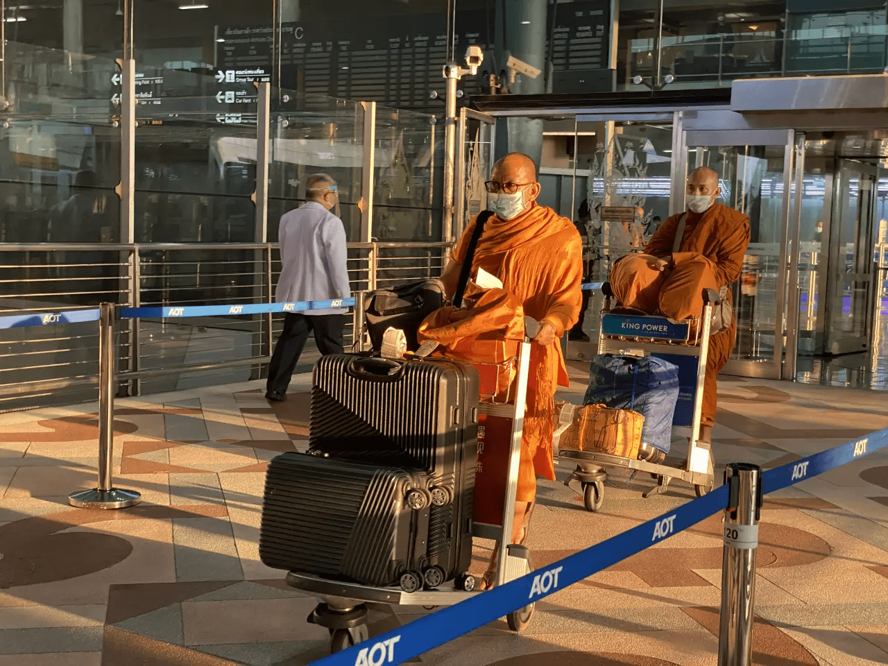Monks From India