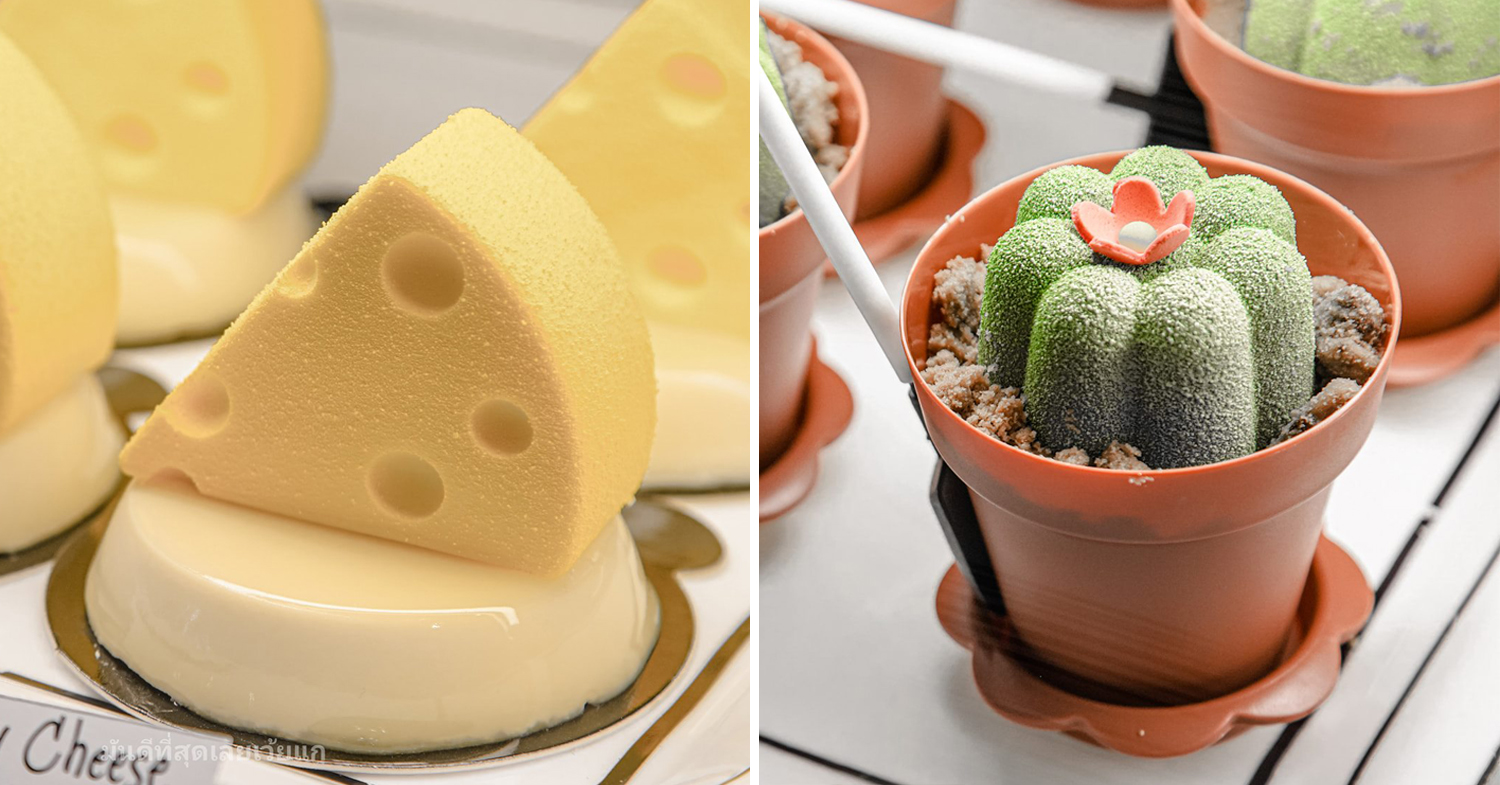 Cute desserts in Bangkok