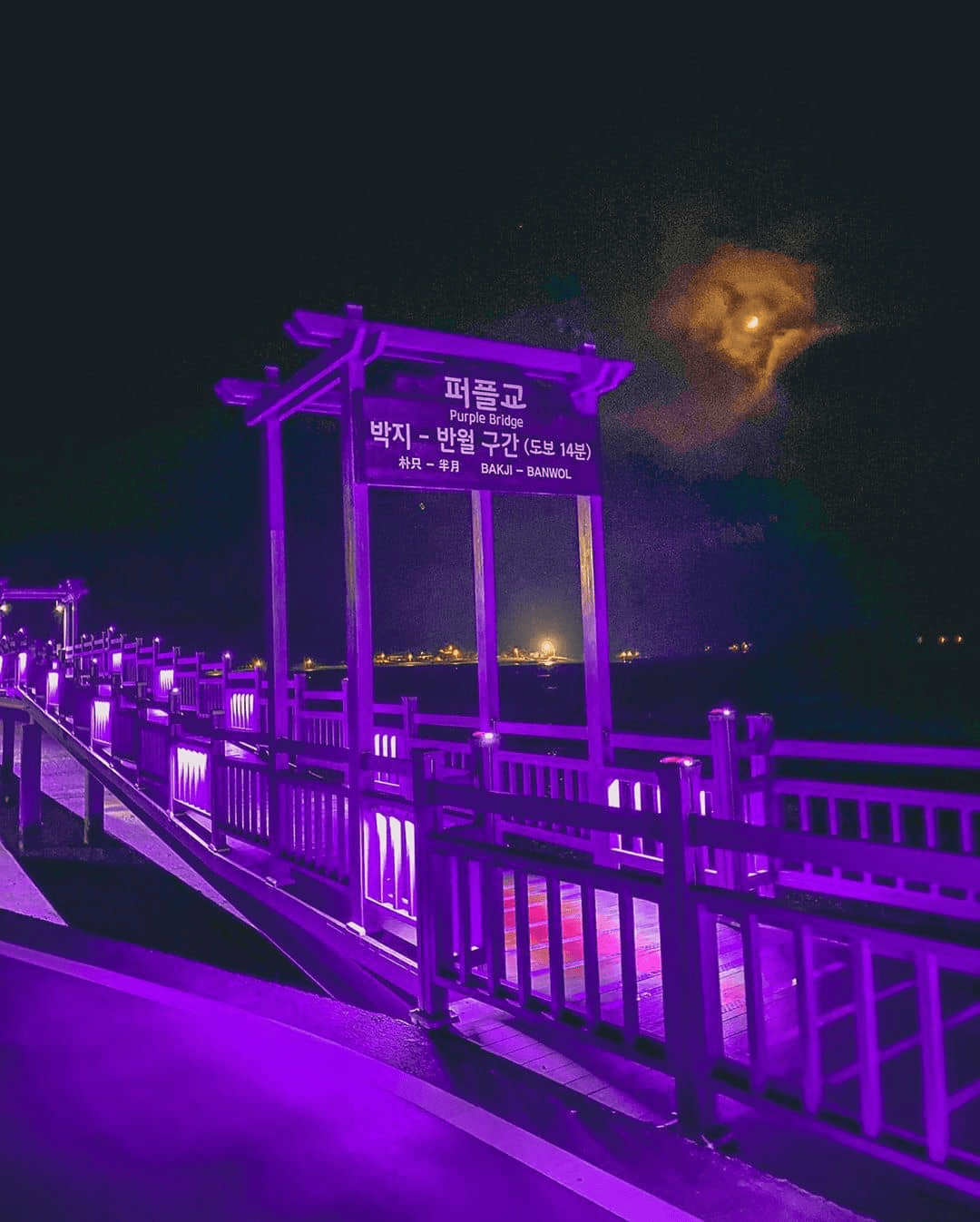Magical purple town in South Korea