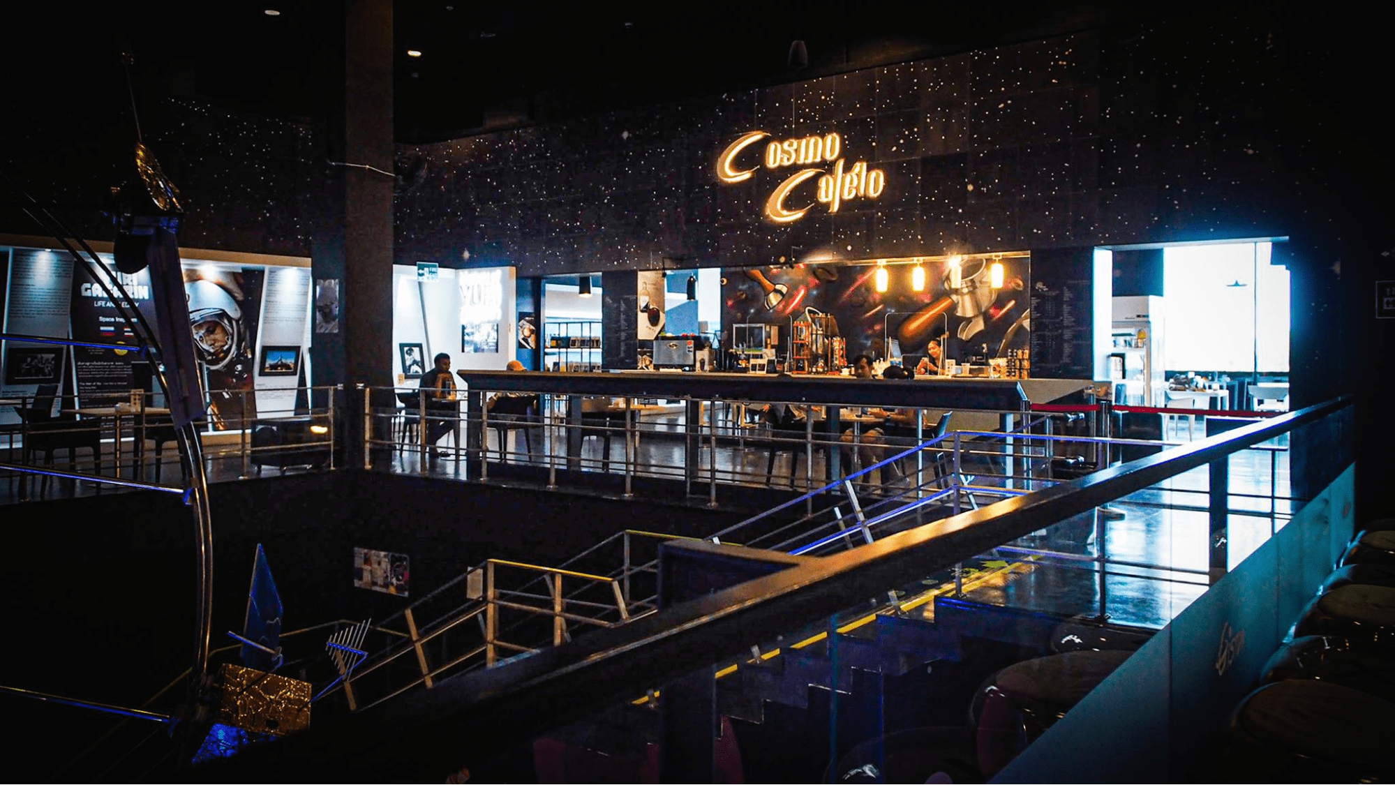 Cosmo cafe in Thailand