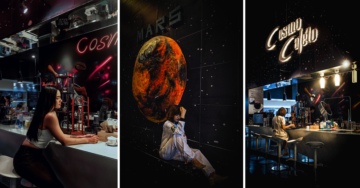 Space cafe in Thailand