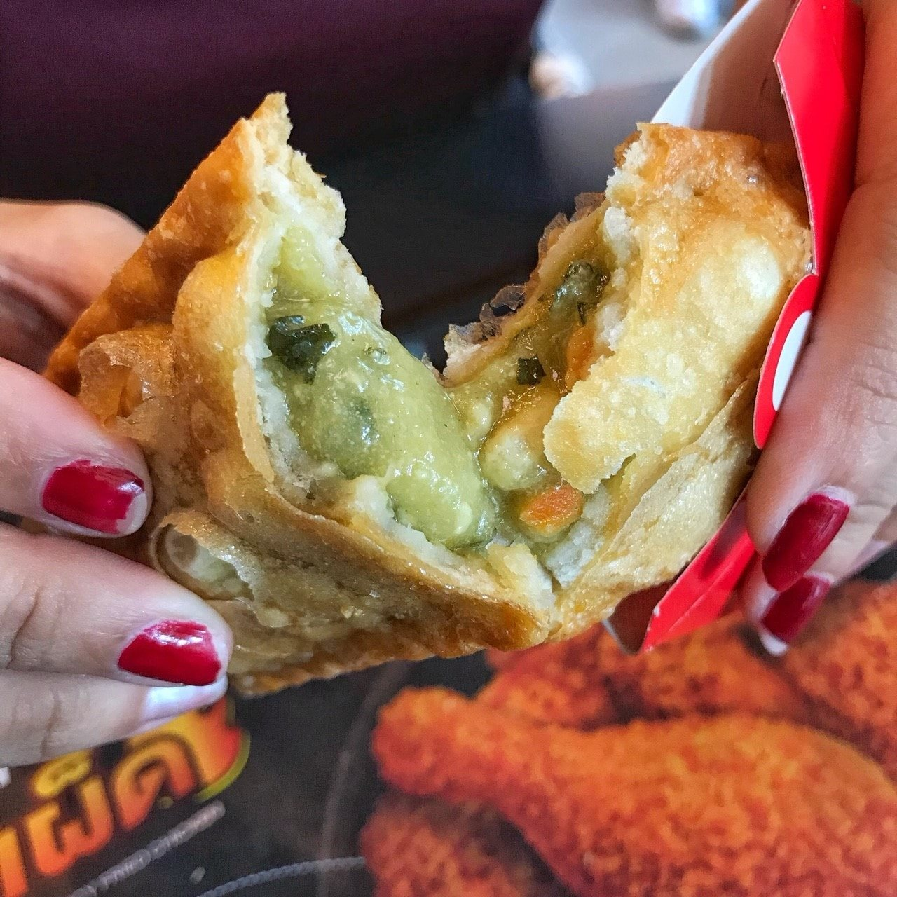 McThai green curry pie