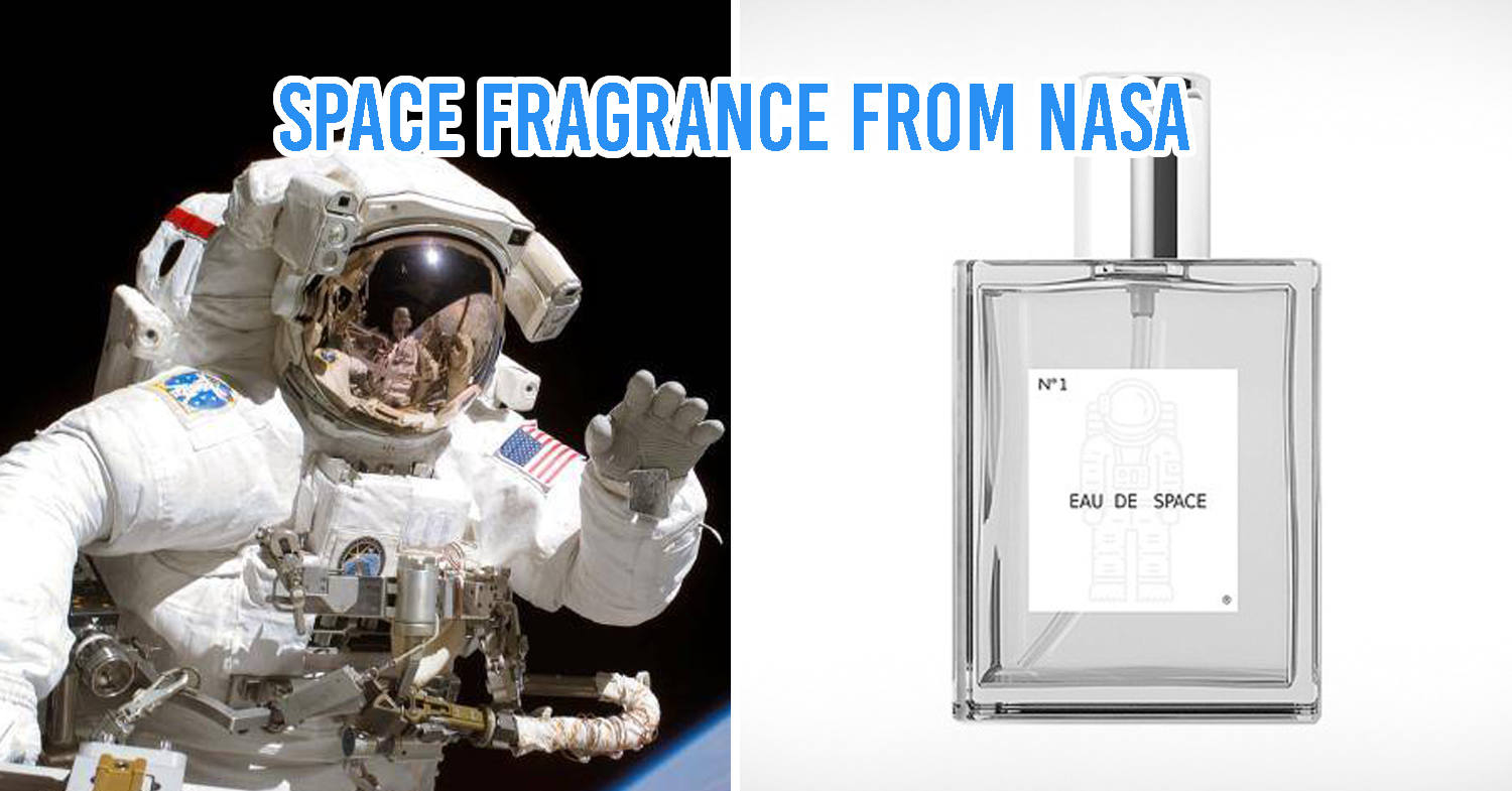 Outer space perfume by NASA
